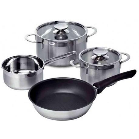 Set di pentole per piani a induzione bosch hez390042 bosch - Pentole per cucine a induzione ...