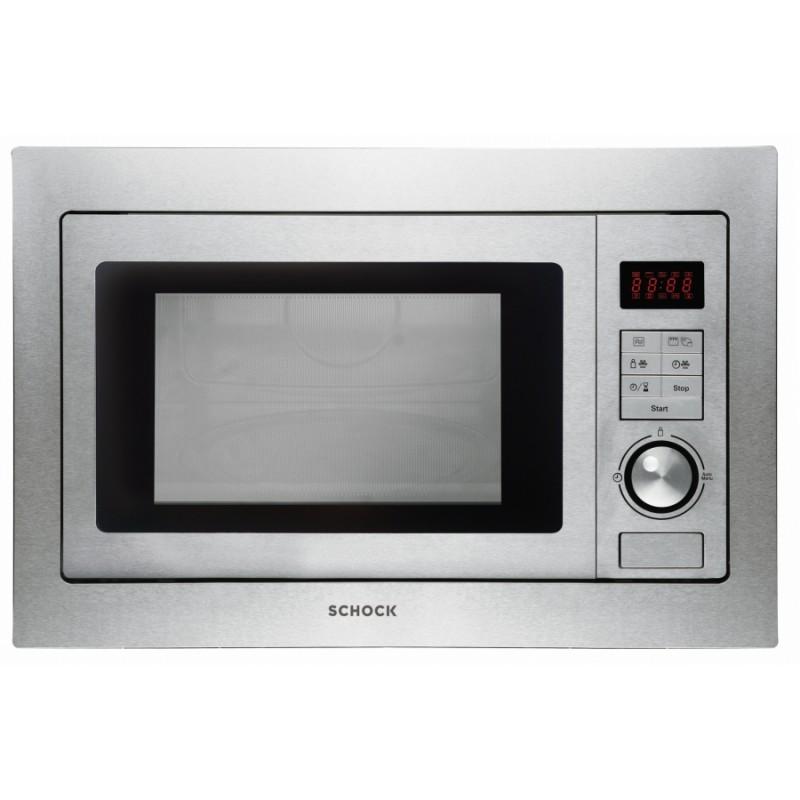 Forno a microonde a incasso con cornice schock f605m - Mobiletto per forno microonde ...