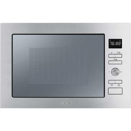 FORNO A MICROONDE AD INCASSO SMEG FMI025X - FAB Appliances Italia