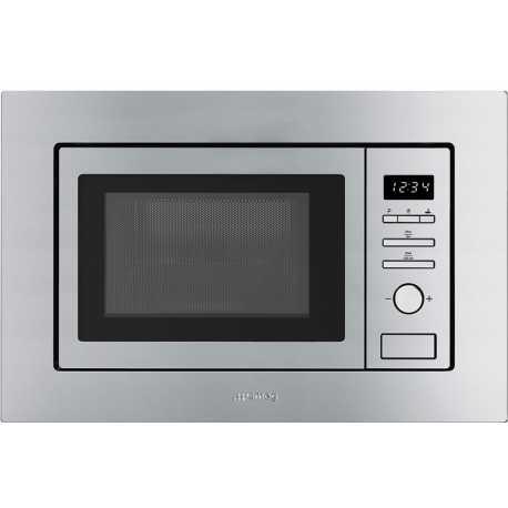 FORNO A MICROONDE AD INCASSO SMEG FMI020X - FAB Appliances Italia