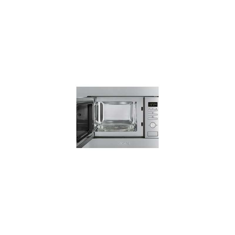 Forno a microonde ad incasso smeg fmi020x fab appliances - Forno a microonde ad incasso ...